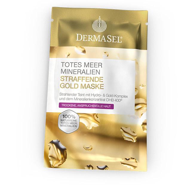 Straffende Gold Maske