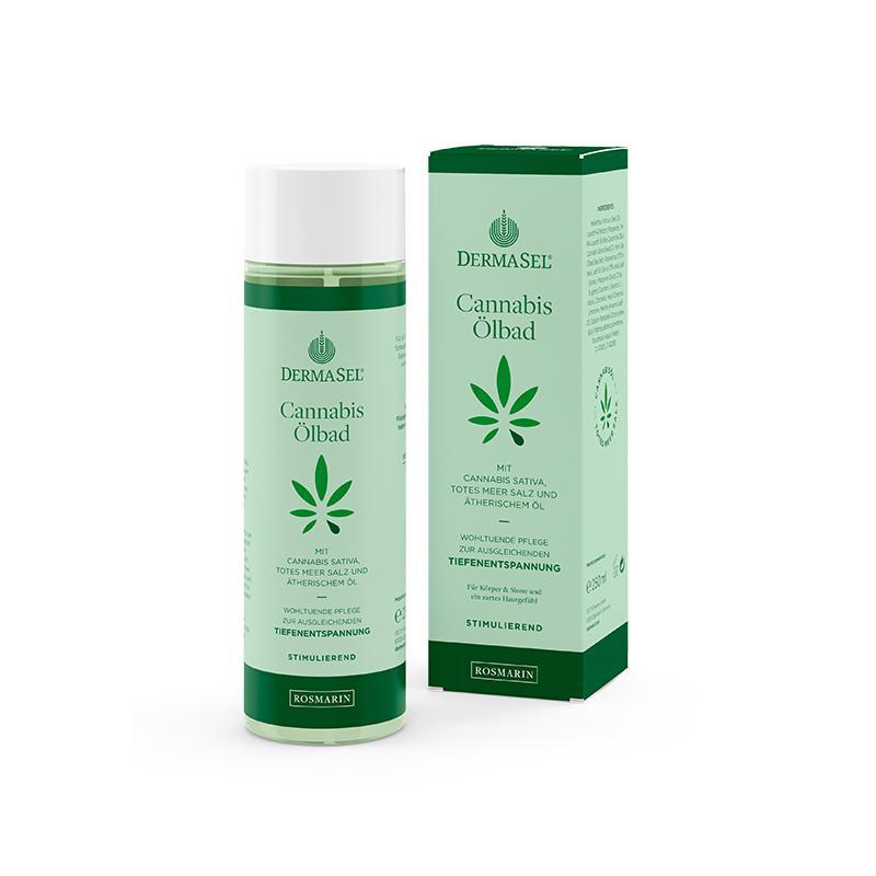 Cannabis Ölbad Rosmarin