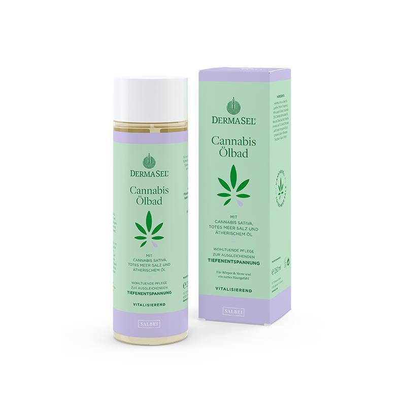 Cannabis Ölbad Salbei
