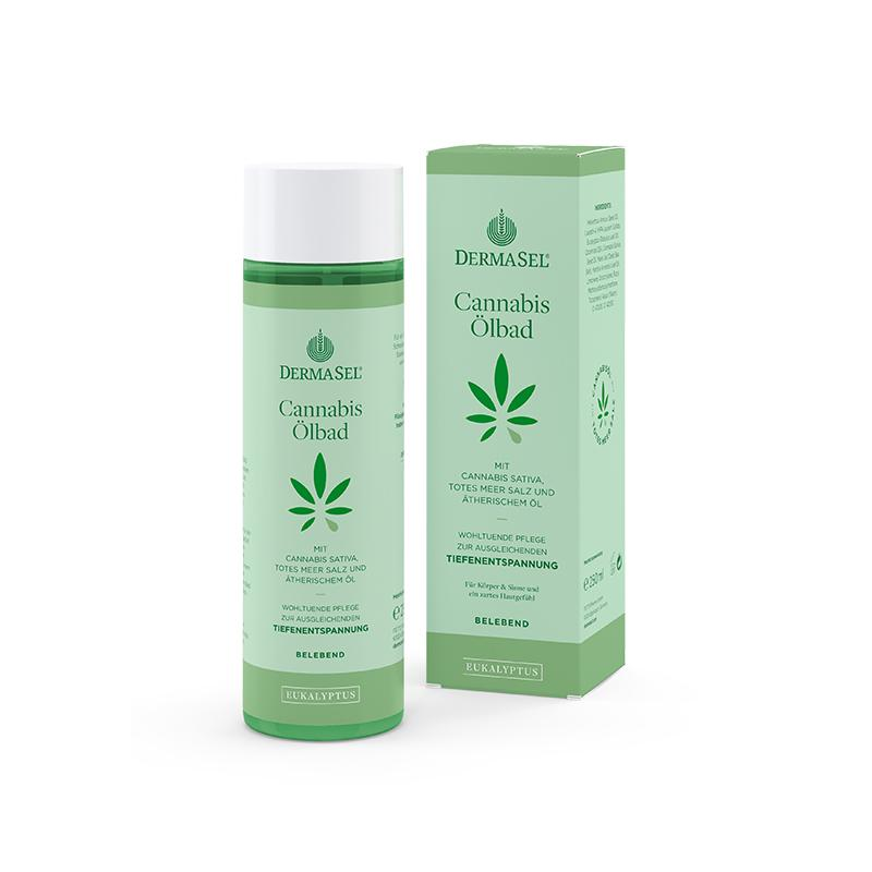 Cannabis Ölbad Eukalyptus